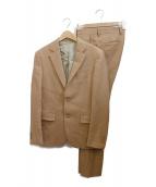 MR.GENTLEMAN(ミスタージェントルマン)の古着「2Bスーツ」 キャメル
