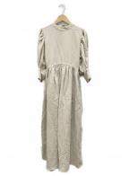 LAGUNA MOON(ラグナムーン)の古着「メイデンワンピース」|ベージュ