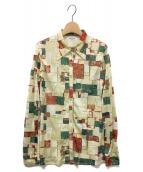 FUMIKA UCHIDA(フミカ ウチダ)の古着「長袖シャツ」|ベージュ