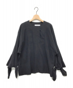 ARCHI(アーキ)の古着「ブラウス」|ブラック