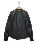 pelleq(ペレック)の古着「シャツ」 ブラック