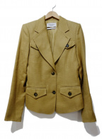 Yves Saint Laurent Rive Gauche(イヴ・サンローラン リヴ・ゴーシュ)の古着「ジャケット」|ベージュ