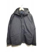 FRED PERRY(フレッドペリー)の古着「ライナー付フーデッドジャケット」|ブラック