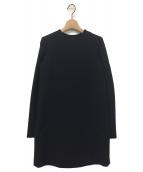 YOKO CHAN(ヨーコチャン)の古着「バックプリーツワンピース」|ブラック