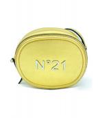 N°21 NUMERO VENTUNO(ヌメロヴェントゥーノ)の古着「ショルダーバッグ」|ゴールド