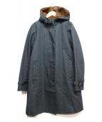 Traditional Weatherwear(トラディショナルウェザーウェア)の古着「ファーライナーフーデッドコート」|ネイビー