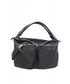 STEFANOMANO(ステファノマーノ)の古着「2WAYバッグ」|ブラック