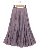 MARIHA(マリハ)の古着「草原の虹のスカート」|パープル