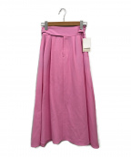 LE PHIL(ル フィル)の古着「グルカデティールスカート」 ピンク