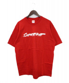 Supreme(シュプリーム)の古着「Futura Logo Tee」|レッド