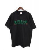 Supreme(シュプリーム)の古着「20AW Nuova York Tee」|ブラック