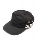 Supreme(シュプリーム)の古着「Side Logo 5-Panel」 ブラック×ホワイト
