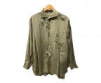 KAPTAIN SUNSHINE(キャプテンサンシャイン)の古着「リビエラロングスリーブシャツ」|ベージュ