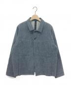SHINYA KOZUKA(シンヤコズカ)の古着「BLUE SHORT JACKET」|ブルー