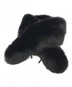 SAGA FOX(サガフォックス)の古着「フォックスファーティペット」|ブラック