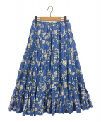 MARIHA(マリハ)の古着「月影のスカート」|ブルー