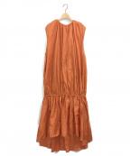 toteme(トーテム)の古着「PRERTORIA DRESSES」|オレンジ