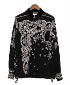 sacai(サカイ)の古着「19AW コーデュロイシャツ」|ブラック