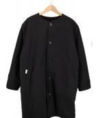 ()の古着「REVERSIBLE MILITARY COAT」 ブラック