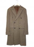 CARUSO(カルーゾ)の古着「チェスターコート」|ブラウン