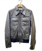 Galaabend(ガラアーベント)の古着「レザージャケット」|ブラック
