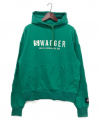 SWAGGER(スワッガー)の古着「プルオーバーパーカー」|グリーン