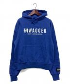 SWAGGER(スワッガー)の古着「プルオーバーパーカー」|ブルー
