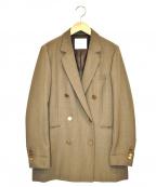bractment(ブラクトメント)の古着「W/VIダブルジャケット」|ブラウン