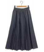 ()の古着「イージーマキシスカート」 ネイビー