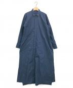 NEHERA(ネヘラ)の古着「シャツワンピース」|ネイビー