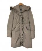EMPORIO ARMANI(エンポリオアルマーニ)の古着「ダウンコート」|グレージュ