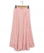 CELFORD(セルフォード)の古着「スカート」|レッド