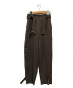 Ameri VINTAGE(アメリヴィンテージ)の古着「EGG KNOT PANTS」 ブラウン