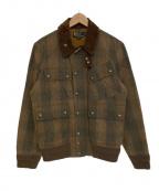 POLO RALPH LAUREN(ポロ・ラルフローレン)の古着「[VNTG]ワックスコットンオイルドジャケット」|ブラウン