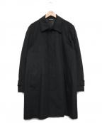 Paul Smith London(ポールスロンドン)の古着「カシミヤステンカラーコート」 チャコールグレー
