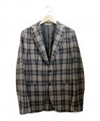 DEPETRILLO(デペトリロ)の古着「段返り3Bウールジャケット」|ベージュ
