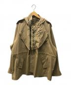 FACETASM()の古着「ミリタリージャケット」 ベージュ