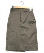 DSQUARED2(ディースクエアード)の古着「コクーンスカート」|カーキ