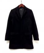 BLUE WORK(ブルーワーク)の古着「チェスターコート」 ブラック