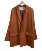 Dulcamara(ドゥルカマラ)の古着「よそいきダブルジャケット」 ブラウン