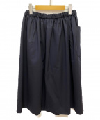COMME des GARCONS GIRL(コムデギャルソン ガール)の古着「ギャザースカート」|ネイビー
