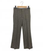 ISABEL MARANT(イザベルマラン)の古着「ストライプパンツ」|ダークグレー