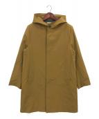 Traditional Weatherwear(トラディショナルウェザーウェア)の古着「インナーダウン付フーデッドコート」 マスタード