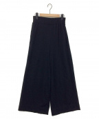 MUSE de Deuxieme Classe()の古着「Jerseyワイド パンツ」 ブラック