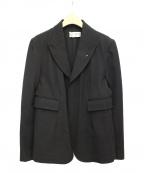 ROBE DE CHAMBRE COMME DES GARCONS(ローブドシャンブル コムデギャルソン)の古着「テーラードジャケット」|ブラック
