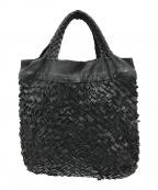 FALORNI(ファロルニ)の古着「レザーワークトートバッグ」|ブラック