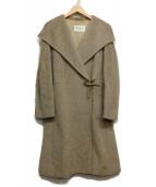 MaxMara(マックスマーラ)の古着「アルパカ混コート」|ベージュ