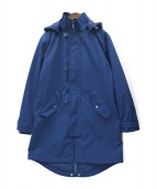 LACOSTE(ラコステ)の古着「2WAY防水性パーカー」|ブルー