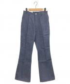 JUN MIKAMI(ジュン ミカミ)の古着「フレアデニムパンツ」