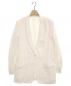FUMIKA UCHIDA(フミカ ウチダ)の古着「SHAWL COLLAR JACKET」|オフホワイト